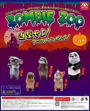 Halloween Gacha KATSU Capsule Toy ZOMBIE ZOO FIGURE アニマルゾンビの楽園