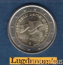2 euro Commémo - Italie 2011 Unification Italia