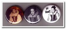 COUNTESS Elizabeth BATHORY Buttons Pins Badges goth gothic vampire serial killer