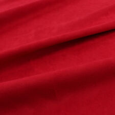 Solid color Suede fabric satin backing For Clothing Garment by the yard