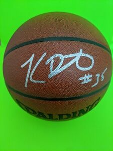 Kevin Durant Brooklyn Nets Warriors Autographed  Indoor/Outdoor Basketball