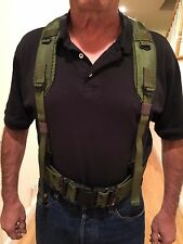"NEW UNISSUED USGI LC-1 INDIVIDUAL EQUIPMENT ""Y"" SUSPENDERS"