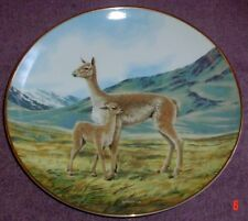 W S George THE VICUNA 8 1/2 Inch Collectors Plate