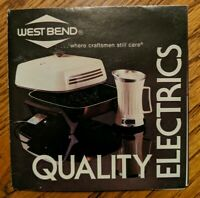 Vintage West Bend Electric Cookware  Advertising Brochure  1980