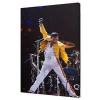 FREDDIE MERCURY QUEEN PAINTING STYLE MUSIC CANVAS WALL ART PRINT READY TO HANG