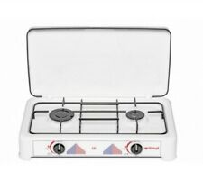 Table de cuisson réchaud à gaz 2 feux (brûleurs) itimat