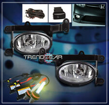 2006 2007 2008 HONDA CIVIC DX EX LX SI COUPE 2DR BUMPER CHROME FOG LIGHTS+3K HID