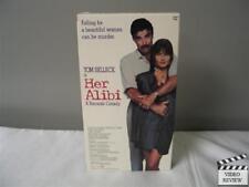 Her Alibi (VHS) Tom Selleck Paulina Porizkova