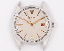 Excellent Vintage 1959 Rolex Stainless Steel Oysterdate 6694 Head!