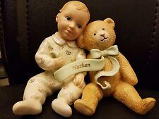 "LENOX.Porcelain . BABYS OWN TEDDY NATHAN  4.5"""