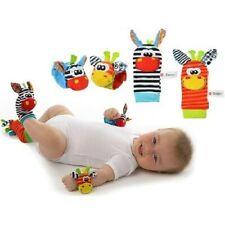 Sozzy Babysocken Rassel Set Baby Sensory Toys Fußsocken Handgelenk Rassel SZY101