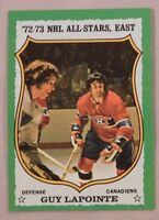 1973 Topps Guy Lapointe Montreal Canadiens #170 Hockey Card nm-mt