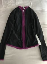 NWT Lululemon Find Your Bliss Jacket, Black/Regal Plum, Size 4 (Reversible)