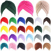 Women Muslim Indian Hat Bonnet Hijab Turban Hat Chemo Cap Headscarf Headwrap Hot