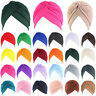 Women's Muslim Indian Hat Bonnet Hijab Turban Chemo Cap Headscarf Headwrap New
