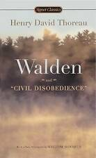 Walden and  Civil Disobedience by Henry David Thoreau (Hardback, 2004)
