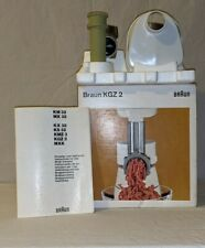 BRAUN KGZ2 MEAT GRINDER FOR MX32 or KM32 MULTIMIX MACHINE