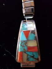Watch Band - Ladies Zuni Multi-color Channel