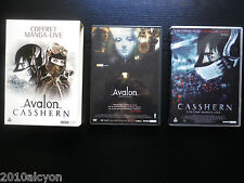 COFFRET DVD MANGA-LIVE : AVALON + CASSHERN (Studio Canal, envoi suivi)