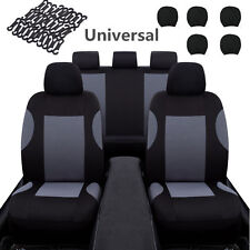 Universal Washable Front Rear Car Interior Seat Covers Protection Accessories (Fits: More than one vehicle)