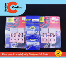 2005 SUZUKI VZ1600 K5 MARAUDER FRONT EBC HH RATED SINTERED BRAKE PADS & NEW PINS
