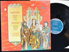 Mozart Organ Solo Mass - Haydn Little Organ Mass - Turnabout TV 34132S - SHRINK
