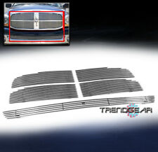 2006 2007 2008 DODGE RAM UPPER + BUMPER LOWER BILLET GRILLE GRILL INSERT COMBO