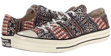 NWB CONVERSE Chuck Taylor All Star 70s Guitar Strap Pattern OXFORD SNEAKERS 10 M