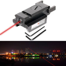 Tactical Compact Red Laser Sight Pointer Picatinny Weaver For Pistol Rilfle