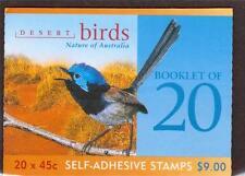 Birds Australian Stamp Booklets