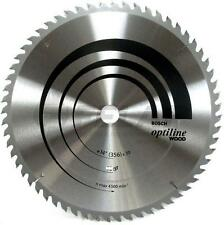 NEW Bosch Optiline Wood 2608640932 356mm 80 Teeth Benchtop Circular Saw Blade