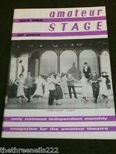 AMATEUR STAGE - COWARDY CUSTARD - APRIL 1982