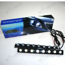 2 X 8 LED Audi Type Flexible Daytime Running Light DRL/Tail Reverse LED Flexible