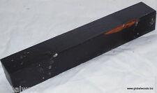 African Blackwood aka Mpingo 1.5x1.5x9 HiFi Audio Disks Saxophone Clarinet Parts