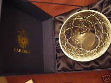FABERGE Crystal Coronation petit bowl NIB! Gorgeous!