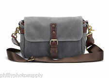 ONA The Bowery Canvas (Smoke) Camera Bag - Handcrafted Premium Bags