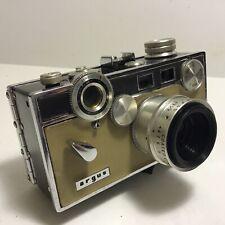 "Vintage 1958 Argus C3 ""The Brick"" Range Finder Camera Match-Matic Leather Case"