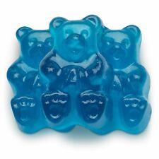 Blue Raspberry Gummi Bears 1 Lb Bulk Vending Machine gummy Chewy Candy