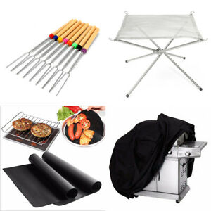 Campfire New Outdoor Camping Roasting Sticks Skewers Telescoping BBQ Forks