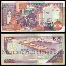 Republic Somalia 1000 Shillings 1990 (UNC) 全新 索马里 1000先令 纸币 1990年