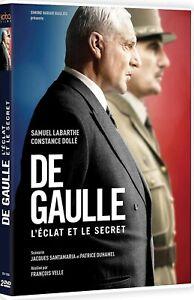 DE GAULLE L'Eclat et Le Secret Documentaire 2DVD Histoire France Cadeau