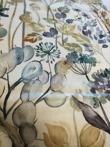 Voyage Country Hedgerow Furnishing Fabric, Lilac Cream 2000mm