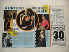 Kylie Minogue Everyday People Richards Campbell Ward clippings Germany
