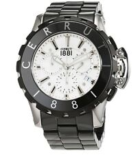 CERRUTI Men's Ceramic Quartz Watch CRA078E219H