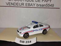 SB 234 REALTOY MERCEDES CLK POLICE 2000 NEUVE SCALE: 1/59