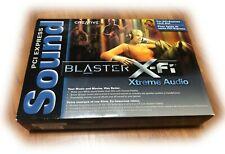 Creative Sound Blaster X-Fi Xtreme Audio SB1040 PCI Expre 7.1 THX Certified Card