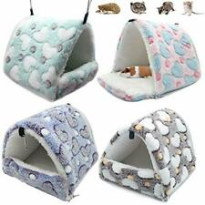 LeerKing Guinea Pig Bed Hideout Rat Hammock Guinea Pig Cage Bedding for Squir.