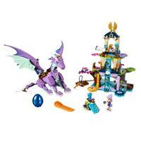 Elves The Dragon Sanctuary Building Lego Bricks Blocks 591PCS 41178 Compatible