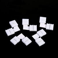 5Pcs L Shape 4pin Solderless Corner Connectors For RGB 5050 LED Strip Lights EE