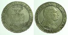 pci0302) Napoli regno Ferdinando IV grana 120 piastra 1805
